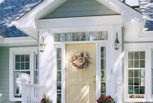 Dream Home: Front Door Entry / by Ashley Gillett