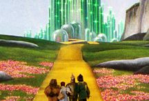 "THE WIZARD OF Oz ... ONE PIN LEADS TO ANOTHER / Everything about and related to 'The wizard of Oz' ... now topic is your choice, create a new OZ theme using your imagination ... And we end our pins with the ""Follow the yellow brick road"" pic. Have Fun!"