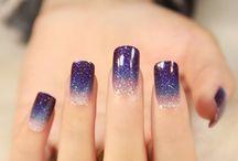 Luce tus uñas con brillitos