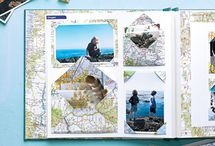 Scrapbooking. travel album