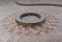possible patio / by Trish Wehrle