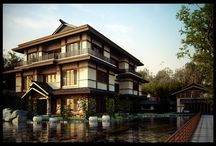 Japanese style houses / by Carolyn Schaal