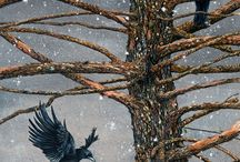 crows.ravens / by Trudy Gallagher