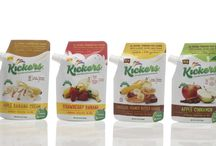 Get Your Kick(ers) / Kickers™ add a burst of flavor to your favorite wholesome foods with delicious combinations of pure fruit, spices and other 100% natural, kosher, NON-GMO, gluten free ingredients. Kickers are perfect for parents, kids, health and fitness enthusiasts and anyone else interested in sprinkling a little mouth-watering fruit-flavored goodness onto their favorite foods —> And without all those controversial ingredients!  Try it on oatmeal, pancakes, hot & cold cereal, yogurt, ice cream & so much more!