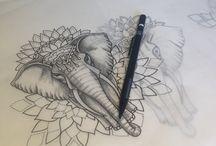 Tattoos / Tatuointi ideoita
