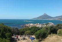 Beaches / The majestic Cape Town Beaches
