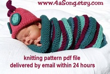 Knitted Baby Stuff / by Ginger Knits