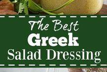 Greek salad dressing