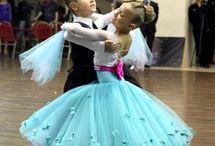 танцы платья