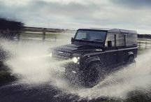 LR DEFENDER 110 UTILITY WAGON / Land Rover Defender 110 Utility Wagon and Hard Top