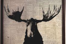 Newspaper Art by Danny Schutt / Оригинальный арт.
