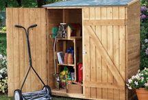 idée cabane de jardin