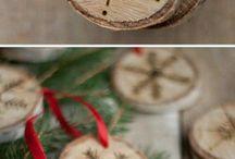 Kerstmis schijf