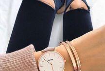 clocks and jewelry