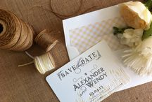 V I N T A G E  H O N E Y  B E E / See how this Vintage Honey Bee theme all came together, influenced by the wedding stationery design by Wendy Maree Collection.