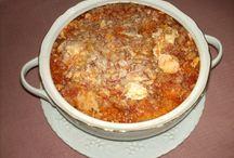 I miei piatti / Le mie creazioni culinarie