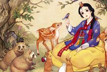 Classic european tales made by asian artists