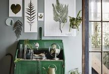 pictures on wall kitchen green