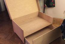 óriás cipős doboz