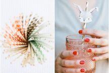 Pajitas - Paper straws / by Fiestas Coquetas