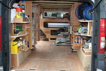 Deck out work van / Fit van out with tools