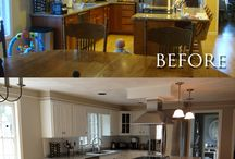 Before and After pictures of projects / Before and after pictures of projects our customers do using product we sell.