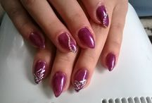 Nails / My hobby. I love to do this.