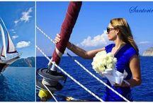 Santorini Destination Wedding / Wedding Planner & Wedding Designer