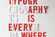 Typography / by Mark A Chambers