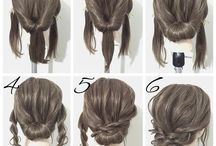How to make updo
