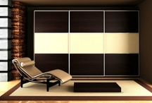 """Sliding Doors / The Closet Builder will custom design sliding doors to match your room's colors, furnishings, and themes, making your room """"complete""""."""