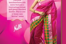Megan 2013 Collection / Colours remind us everyday, of how beautiful life is. Colours represent joy, prosperity, love and abundance. They transform our thoughts and our moods by just being there. This festive season, Nalli wishes you an experience that creates beautiful memories filled with the brightest of colours that you will look back on fondly. Inspired by this sentiment, Nalli presents the Megan Collection.