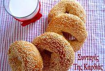 Breads & Doughs - Ψωμιά & Ζύμες