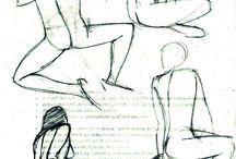 Gesture Drawings / Gesture drawings I did