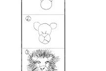 Apprentissage dessin.