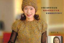Вязание круглые кокетки
