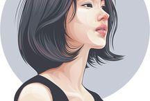 Girls art