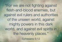 Prayer & Scripture. / My faith.