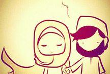 muslimah couple