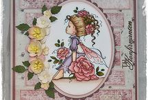 WEE STAMPS - handmade girly cute handmade cards