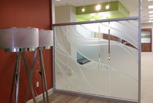Privacy / Frosted Film / Frosted and privacy window film designs