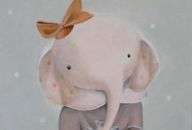 ♥Illustrations♥Elephant♥