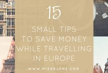 Europe travel tips / Europe travel tips for first-timers, money saving tips in Europe, packing tips, packing list