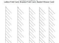 Braided and Lattice cards
