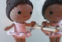 Bonecas de crochce