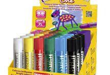 Productos Playcolor / Te mostramos todos nuestros productos Playcolor en este tablero #playcolor, #instant educa, #tempera solida, instant #decora tejidos, #dibujar, #paint, #draw, #tempera