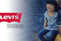 LEVI'S KIDSWEAR SS16 / The entire Levi Kids collection encapsulates the brand's urban flair and sense of luxury craftsmanship and attention to detail with mini me styles, adorable jeans in the classic 501 cut and relaxed tees and jumpers.