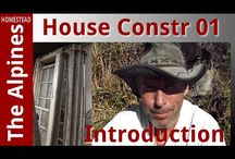 Home Build at The Alpine Homestead