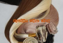 Clip Hair Extensions / finest quality 100% pure human hair,Manufacturer by Qingdao Unique Hair Products Co.,Ltd. various color and materials you can choose, European hair,Brazilian hair,Russian hair,Peruvian hair,etc welcome to visit our website www.uniquehairextension.com or our blog www.uniquewig.blogspot.com or email us sales@uniquehairextension.com or uniquehairextension@gmail.com for more information !