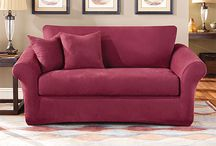 Loose Back Furniture & Seat Cushions / Sure Fit Collections help your existing furniture look today!